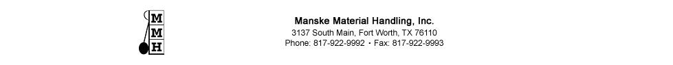 Manske Material Handling, Inc.